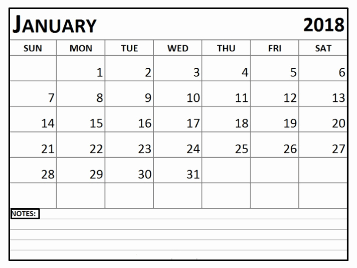 Editable Calendar 2017-2018 Best Of January 2018 Calendar Editable Printable