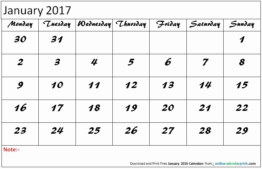 Editable Calendar 2017-2018 Unique December January 2017 Calendar Editable
