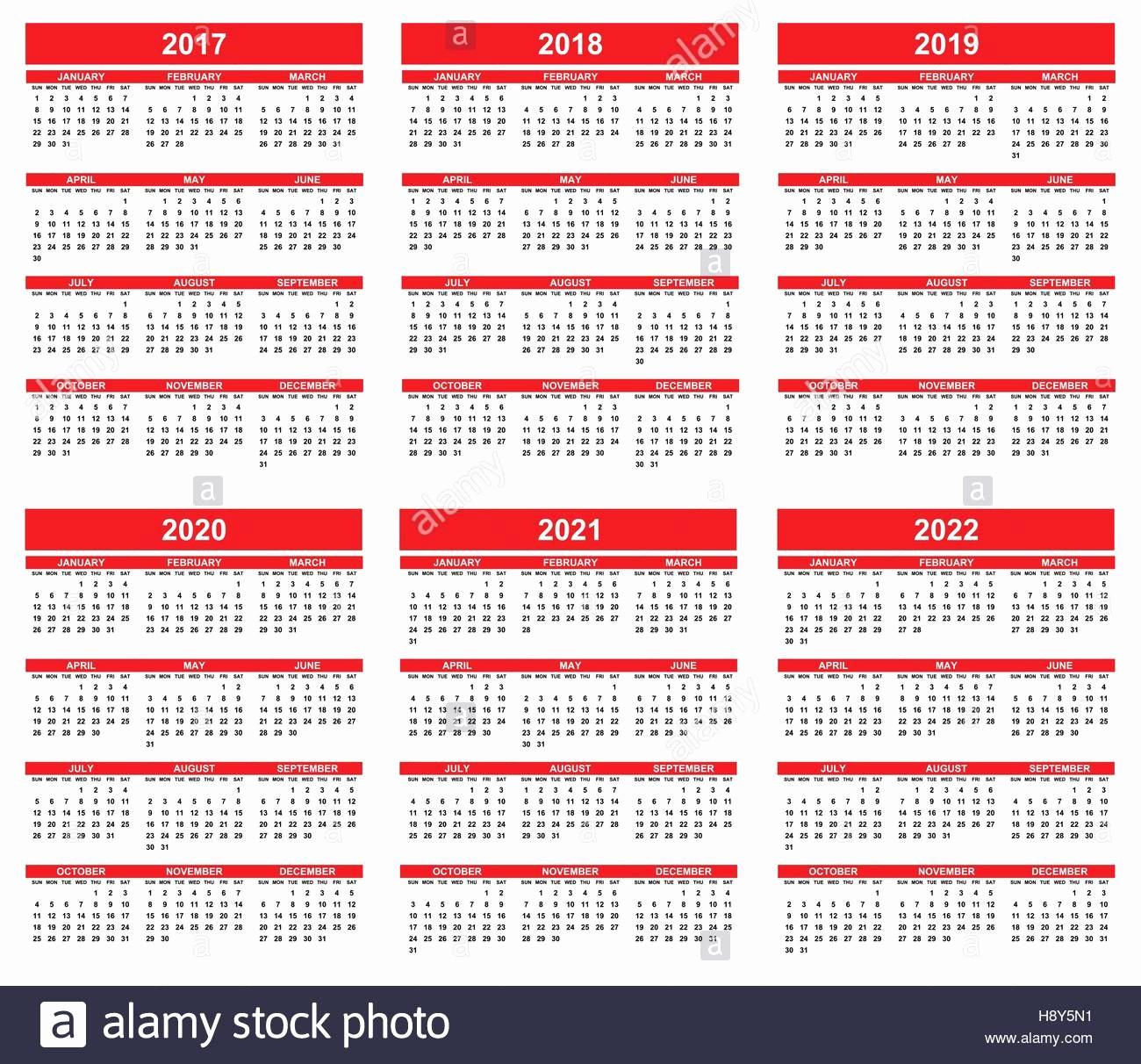 Editable Calendar 2017-2018 Unique Simple Editable Vector Calendars for Year 2017 2018 2019
