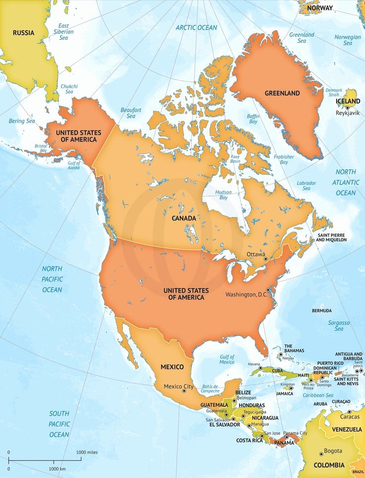 Editable Maps Of north America Beautiful 39 Best Maps Of north America Continent Regions