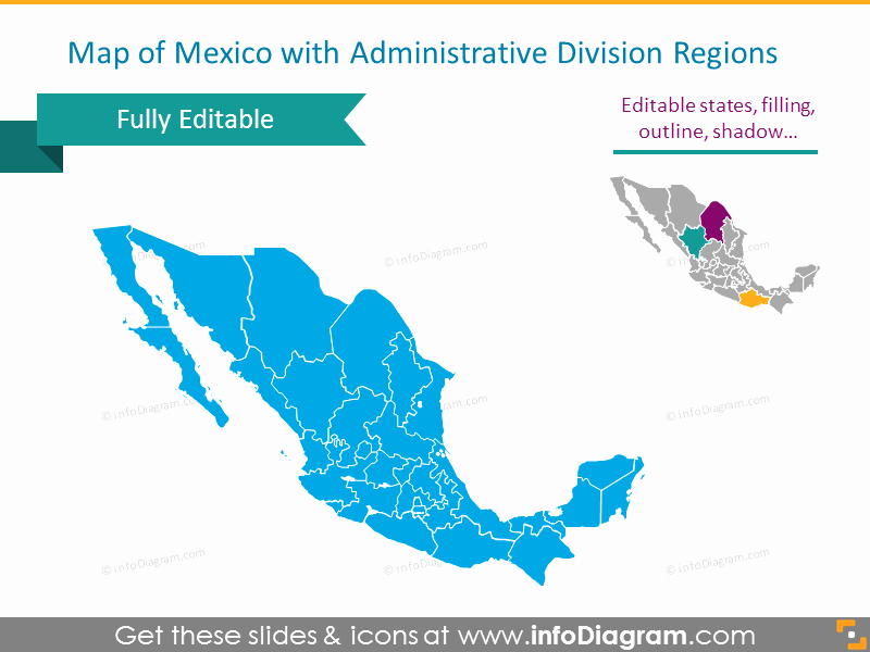 Editable Maps Of north America Elegant Editable Maps Icons Usa Canada Mexico north America