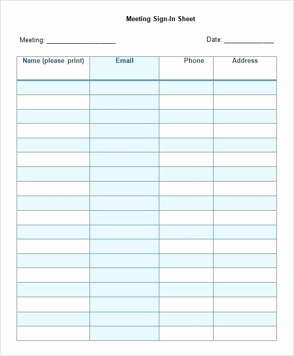Editable Sign In Sheet Template New Visitors Free Printable Sign Up Sheet Templates
