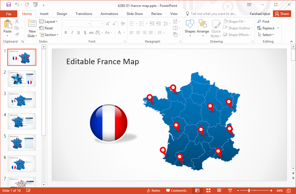 Editable Us Map for Ppt Fresh Best Europe Maps for Powerpoint Slides