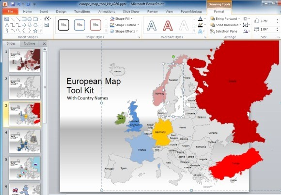 Editable Us Map for Ppt New Europe Map Template for Powerpoint Presentations