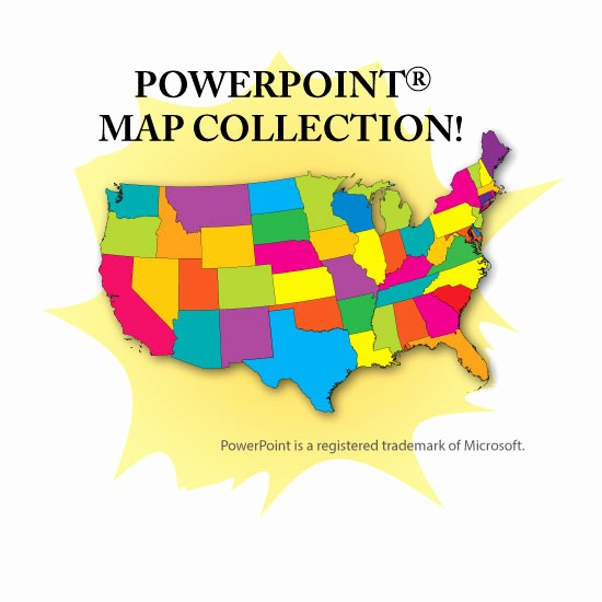 Editable Us State Map Powerpoint Best Of Editable Maps for Powerpoint Vector Maps for Presentations