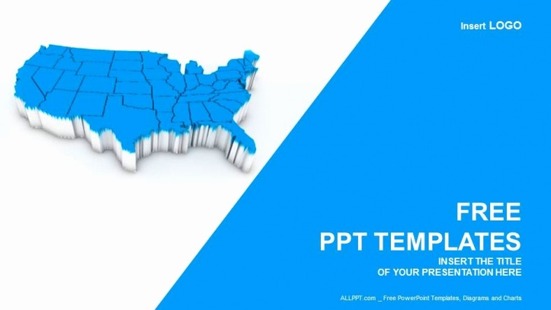 Editable Us State Map Powerpoint Fresh Best S Of Powerpoint Map Templates Free Us Map