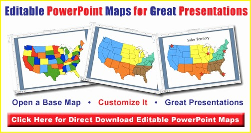 Editable Us State Map Powerpoint Fresh Free north American and Caribbean Countries Printable