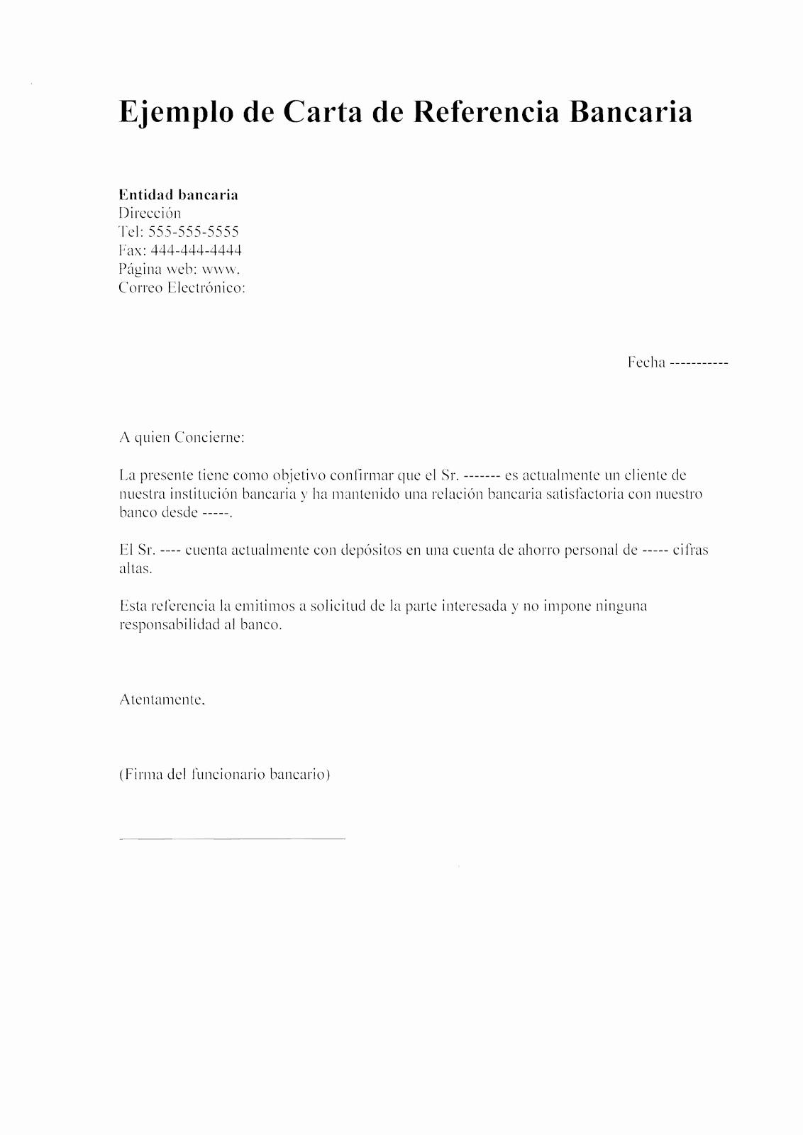 Ejemplo De Carta De Referencias Luxury Carta De Re Endacion Personal Imagui