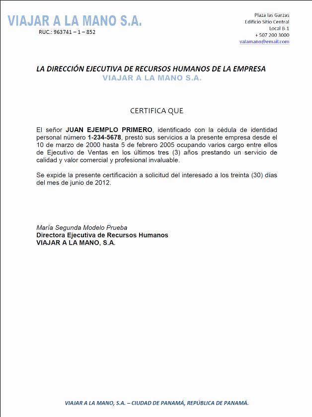 Ejemplo De Carta De Referencias New Ejemplo De Carta De Referencia Profesional O Ercial