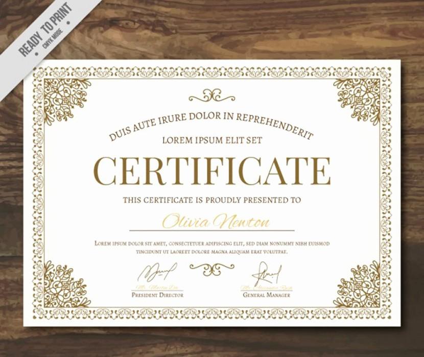 Ejemplo De Certificado De Reconocimiento Fresh 37 Plantillas Para Diplomas Y Certificados Pletamente