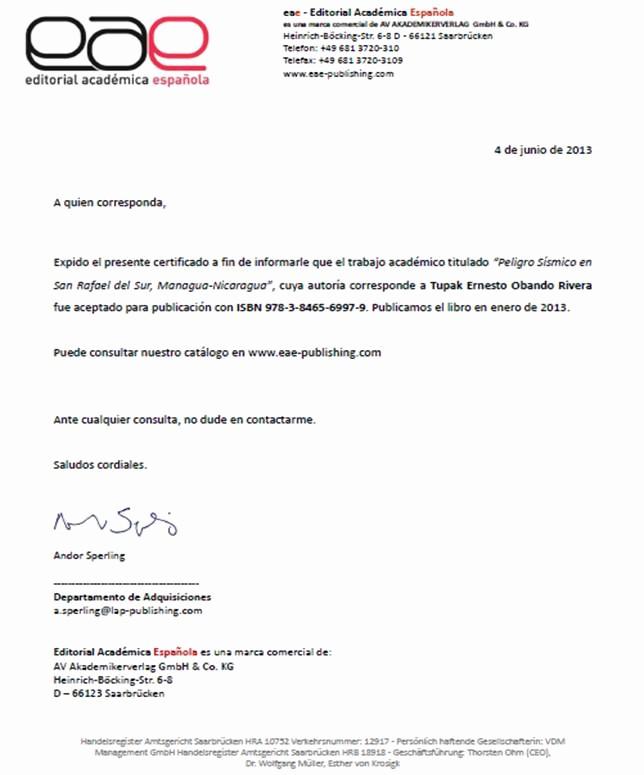 Ejemplo De Certificado De Reconocimiento New Certificados De Publicacion Ejemplos De Casos