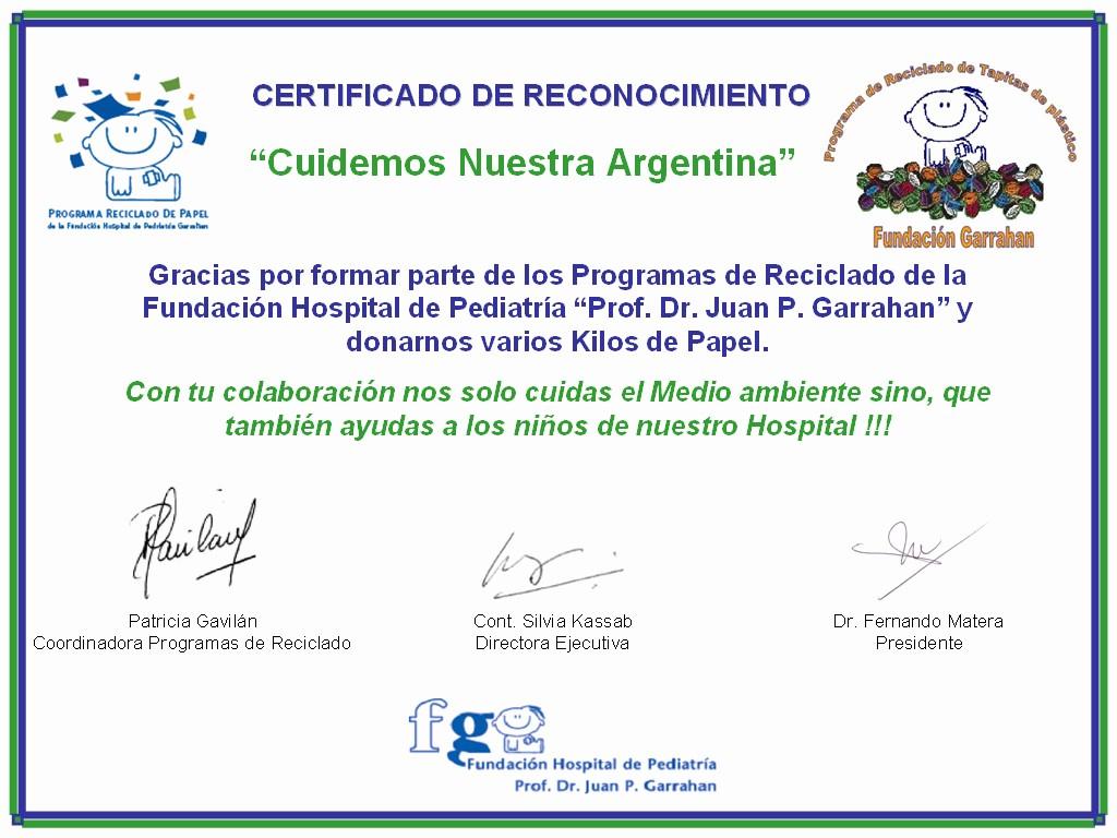 Ejemplo De Certificados De Reconocimiento New Ejemplo De Certificado De Agradecimiento Imagui