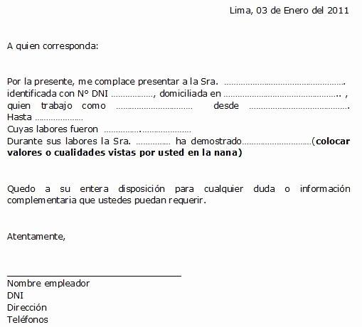 Ejemplos De Carta De Recomendacion Best Of Ejemplo De Carta De Re Endación Personalizada Ejemplos De