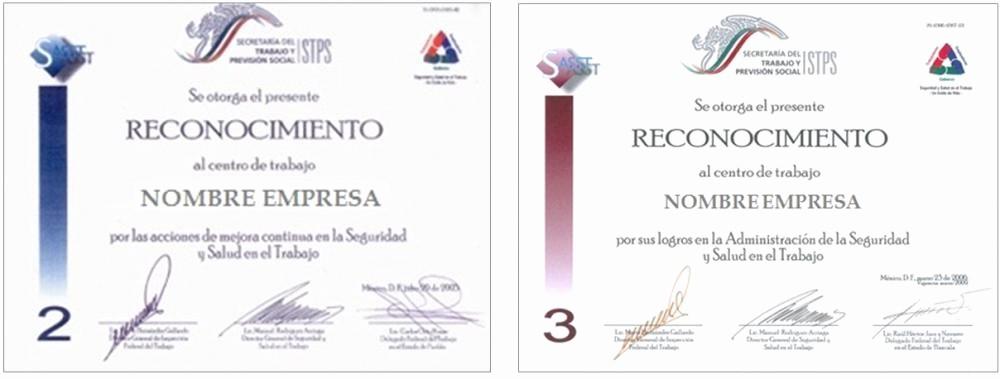 Ejemplos De Certificados De Reconocimiento Awesome formatos De Reconocimientos Laborales