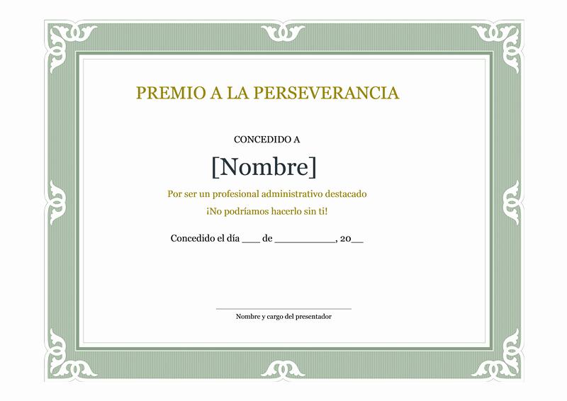 Ejemplos De Certificados De Reconocimiento Inspirational Ejemplo De Certificado De Reconocimiento Del Profesional