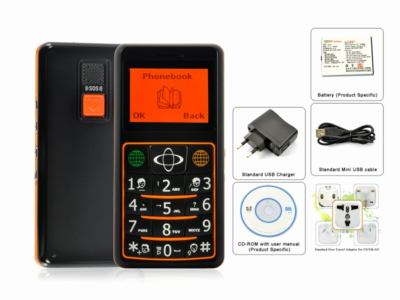 Electronic Address Book for Seniors Best Of Quadband Gsm Senior Cell Phone with Gps Tracking