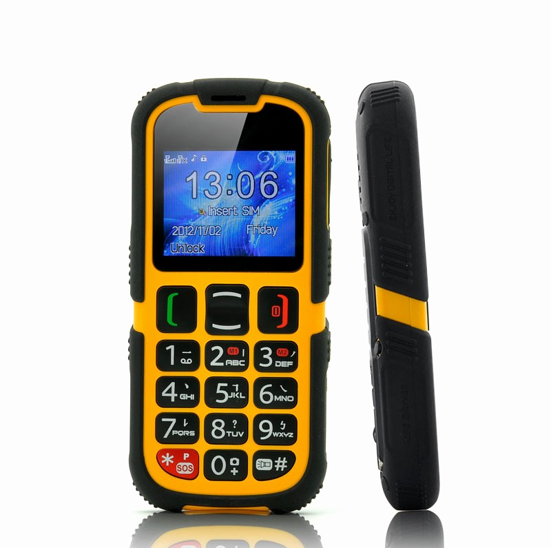 Electronic Address Book for Seniors Elegant Rugged Senior Citizen Phone Dual Sim Quad Band