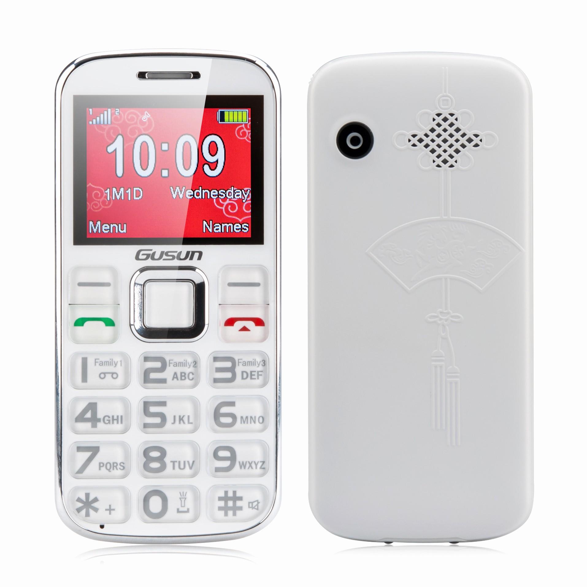 Electronic Address Book for Seniors Luxury Gusun F10 Dual Sim Senior Citizen Phone Quad Band 2 Inch