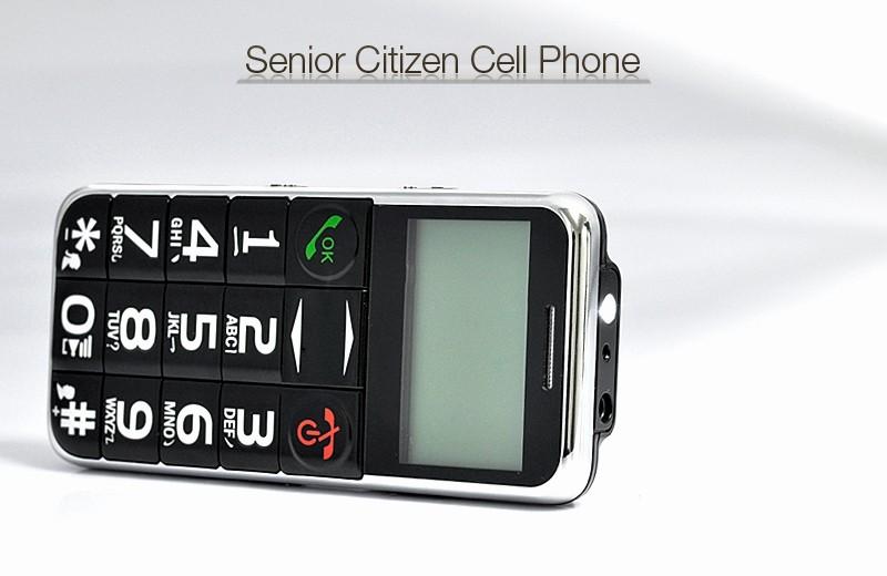 Electronic Address Book for Seniors Luxury Senior Citizen Quad Band Cell Phone with Flashlight [tem