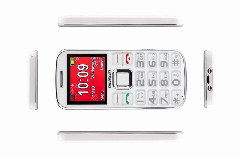 Electronic Address Book for Seniors New Gusun F10 Dual Sim Senior Citizen Phone Quad Band 2 Inch