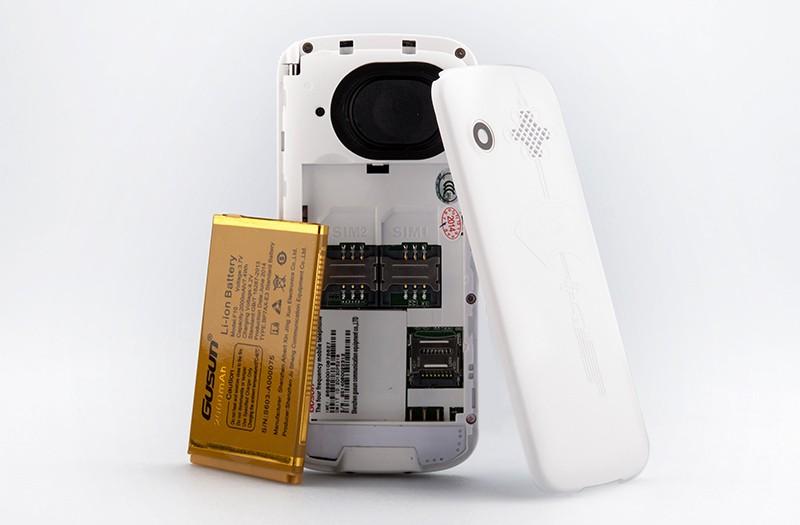 Electronic Address Book for Seniors Unique Gusun F10 Dual Sim Senior Citizen Phone Quad Band 2 Inch
