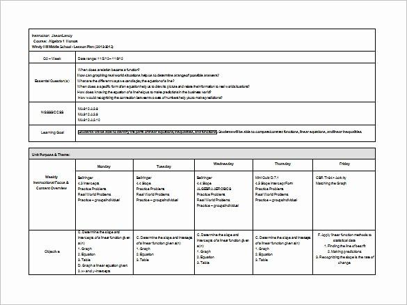Elementary Lesson Plan Template Word Elegant Behavior Plan Template for Elementary School Templates