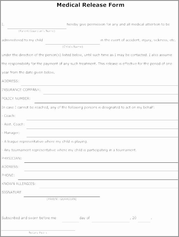 Emergency Contact form for Children Best Of 10 Emergency Contact form Template for Child Poept