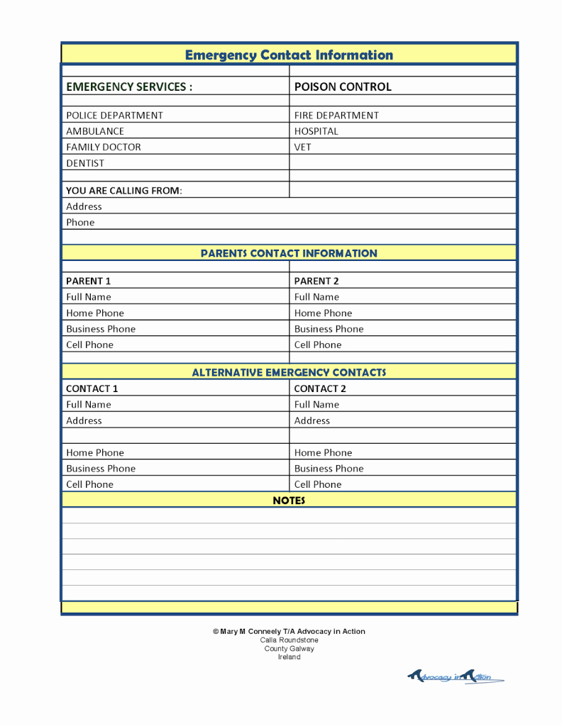 Emergency Contact List for Babysitter Best Of Special Needs Parents How to Find A Babysitter