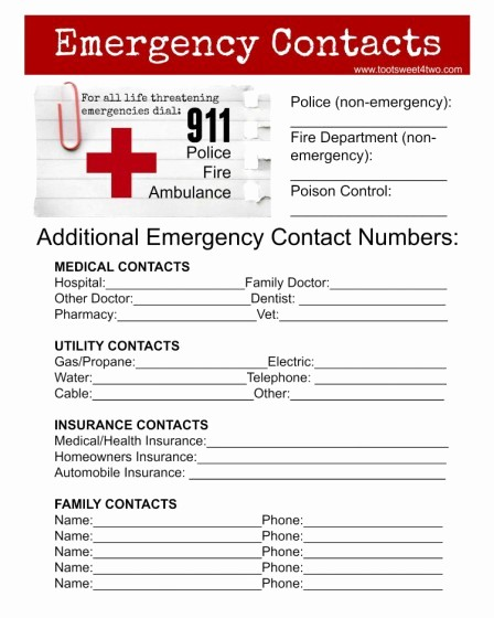 Emergency Contact List for Business New Emergency Contacts Jpeg 750x938 toot Sweet 4 Two