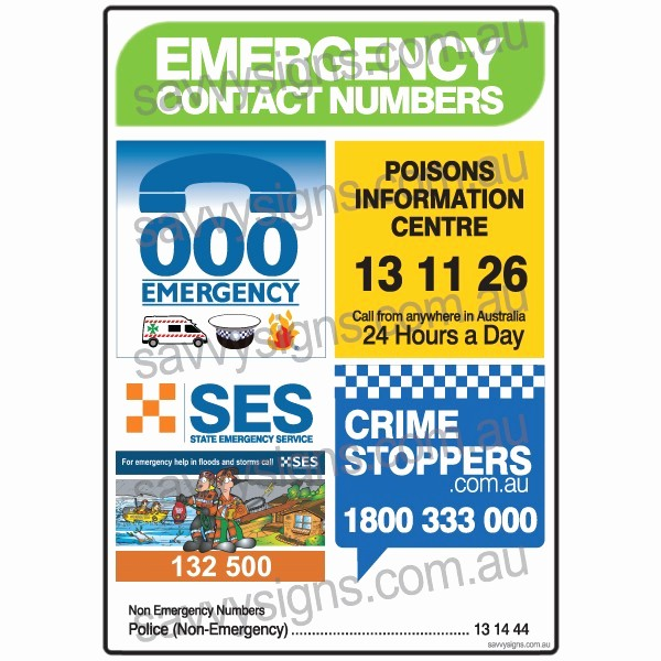 Emergency Contact List for Kids Fresh the Gallery for Emergency Phone Numbers List for Kids