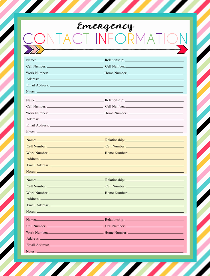 Emergency Contact List for Kids Inspirational I Should Be Mopping the Floor Free Printable Emergency