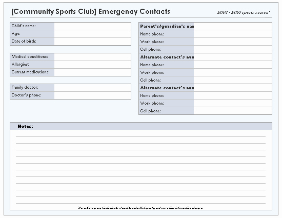 Emergency Contact List Template Excel Luxury Address Books Fice