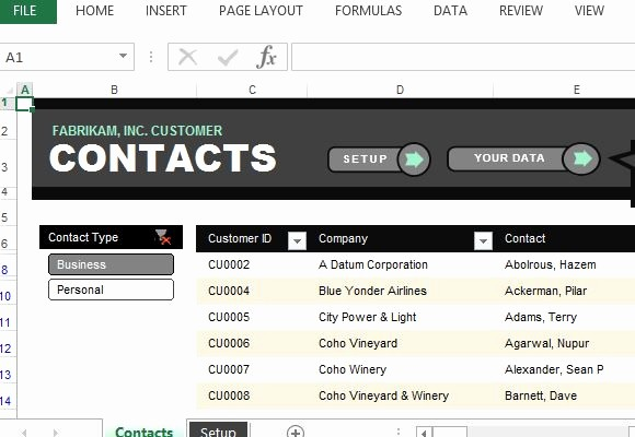 Emergency Contact List Template Excel New Customer Contact List Excel Template