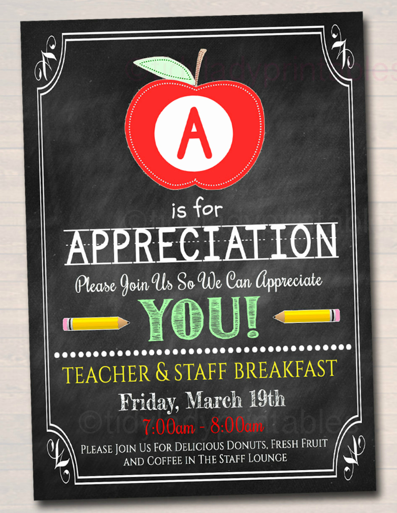 Employee Appreciation Day Flyer Template Awesome 14 Appreciation Flyer Designs & Templates Psd Ai