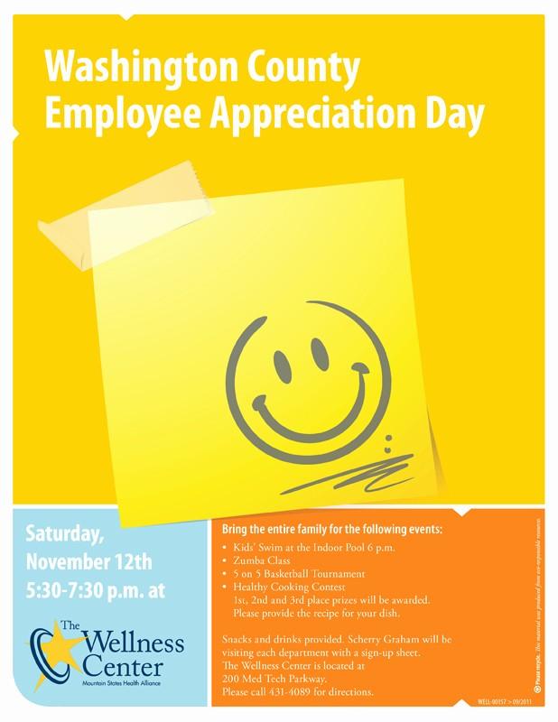 Employee Appreciation Day Flyer Template Awesome Employee Appreciation Day Flyer Template to Pin