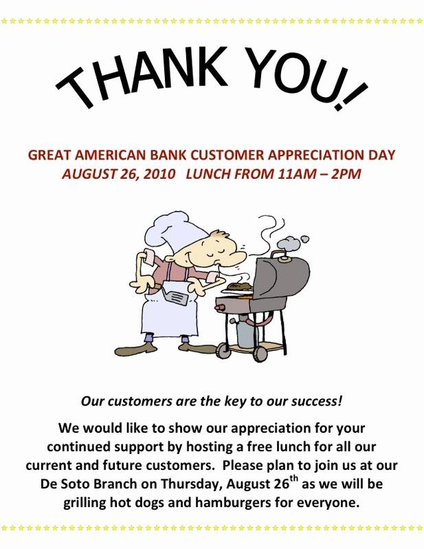 Employee Appreciation Day Flyer Template Best Of 7 Best Of Customer Appreciation Flyer Templates