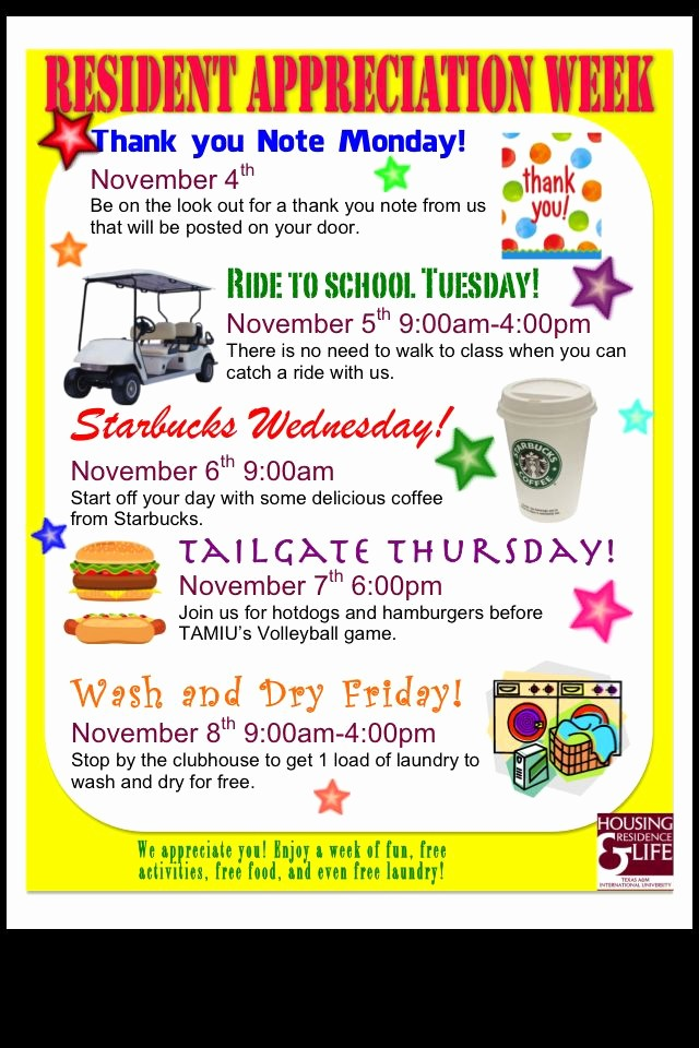 "Employee Appreciation Day Flyer Template Best Of Like the ""free Load"" and the Tail Gate Idea Resident"