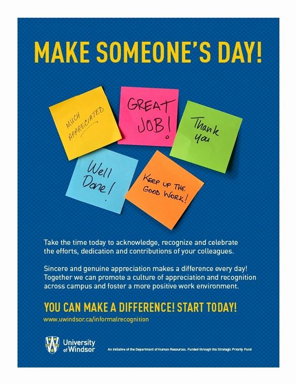 Employee Appreciation Day Flyer Template Elegant Sample Flyer for Employee Appreciation Week
