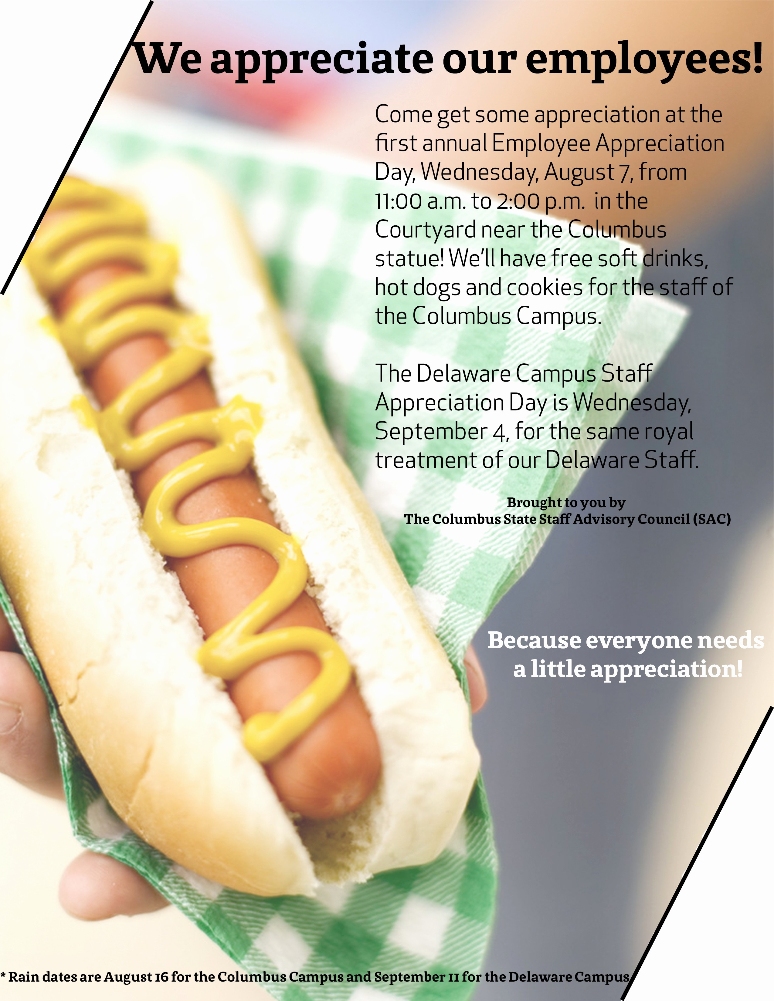 Employee Appreciation Day Flyer Template Luxury 7 Best Of Employee Appreciation Day Flyer