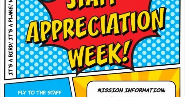 Employee Appreciation Day Flyer Template New Superhero Flyer Template Google Search