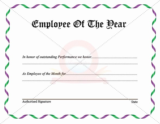 Employee Award Certificate Templates Free New the 16 Best Employee Certificate Images On Pinterest