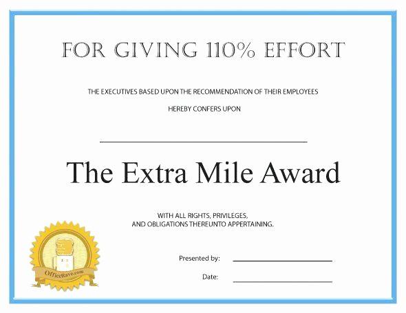 Employee Award Certificate Templates Free Unique Recognition Award Template – Template Gbooks