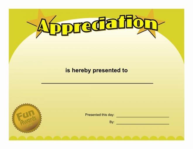 Employee Award Certificates Templates Free Lovely Free Printable Funny Certificate Templates Colesecolossus