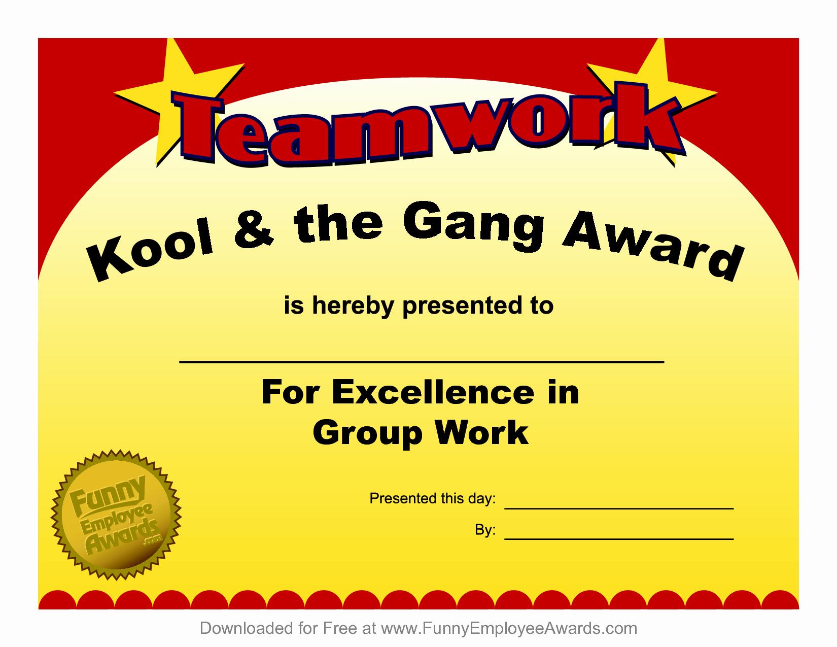 Employee Awards Certificates Templates Free Best Of 8 Best Of Employee Award Certificate Templates