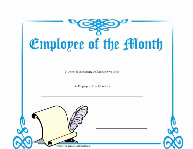 Employee Awards Certificates Templates Free Elegant 8 Employee Recognition Certificates