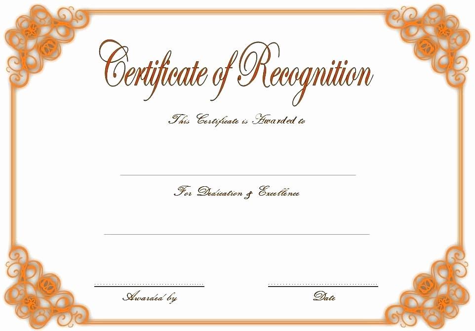 Employee Awards Certificates Templates Free Inspirational Certificates Recognition Templates Printable
