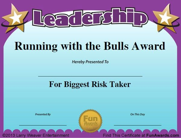 Employee Awards Certificates Templates Free Inspirational Funny Awards for Employees … Work Awards