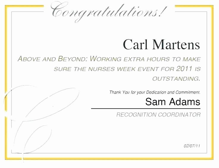 Employee Awards Certificates Templates Free Luxury Free Certificate Appreciation Templates and Letters