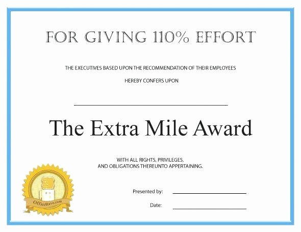 Employee Awards Certificates Templates Free Luxury Recognition Award Template – Template Gbooks