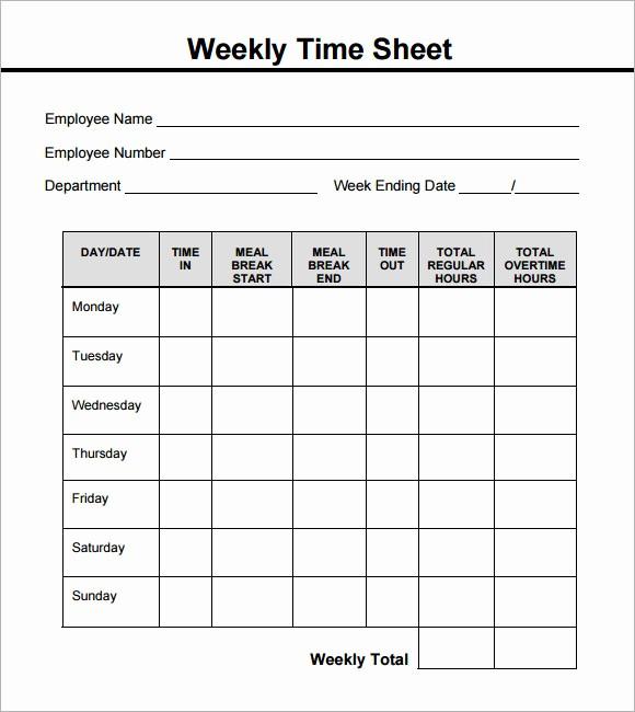 Employee Bi Weekly Timesheet Template Beautiful Basic Bi Weekly Timesheet Template Templates Resume